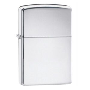 ZIPPO MẠ CHROME TRƠN BÓNG – CLASSIC HIGH POLISH CHROME 250