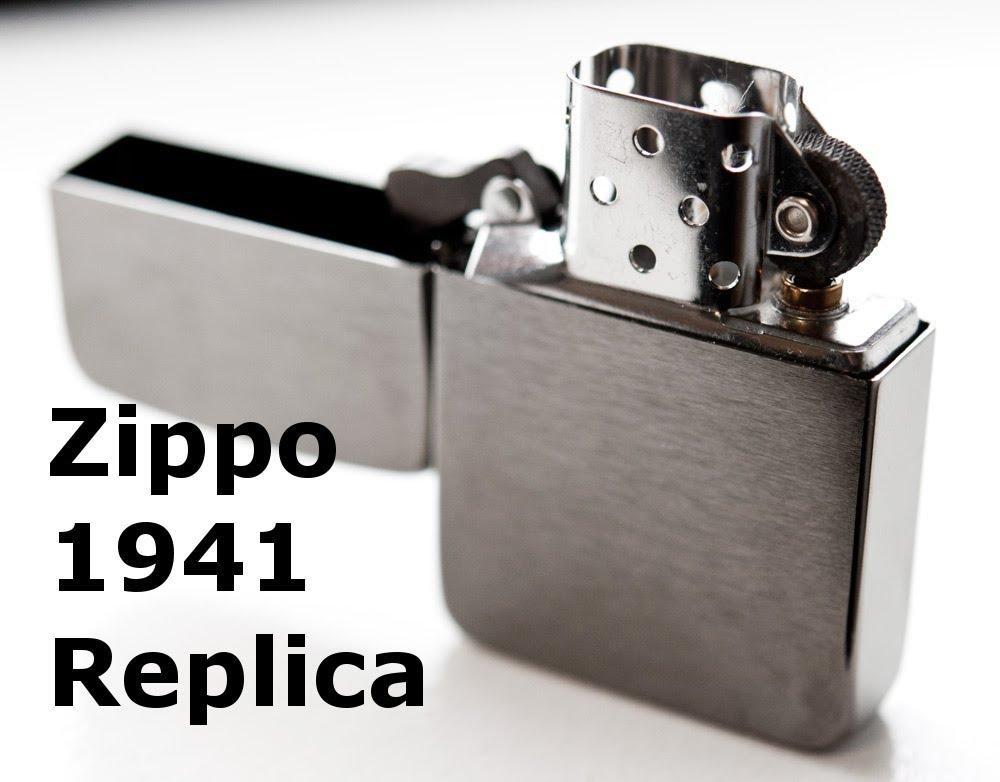 ZIPPO BRUSHED CHROME 1941 REPLICA