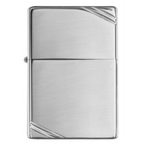 ZIPPO CHẶT GÓC BÓNG TRẮNG – HIGH POLISH CHROME VINTAGE WITH SLASHES 260