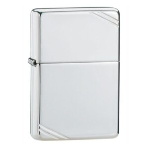 ZIPPO STERLING SILVER VINTAGE WITH SLASHES 14